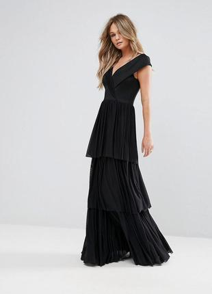 Asos club l роскошное эластичное вечернее платье доставка сутки