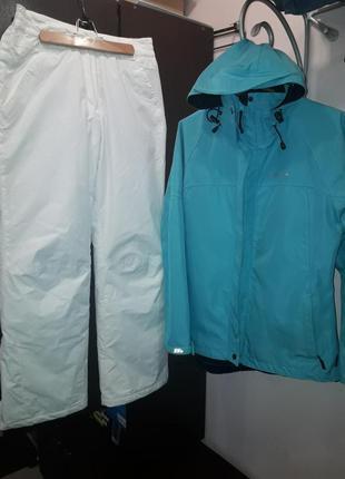 Лыжный костюм trespass, (курточка+штаны), размер 38-40 (м)