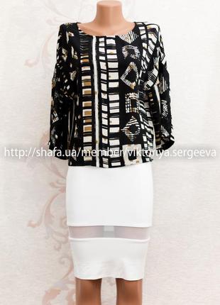 Большой выбор блуз - красивая блуза шифоновая кофточка в актуальный принт