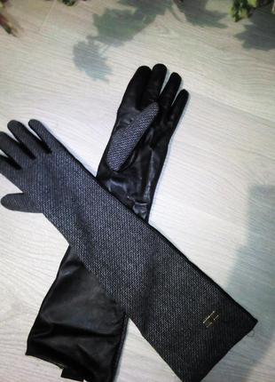 Оригинал! длинные перчатки от бренда celyn b (elisabetta franchi)