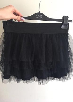 Пышная юбка короткая