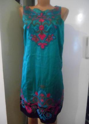 Платье  moonson  вышитое пог-43-44см пот-42см поб-47см