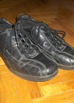 Туфли весенние кожа