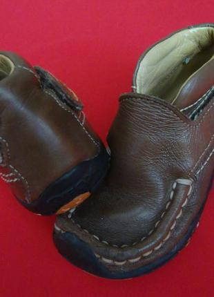 Ботинки geox натур кожа 22 размер