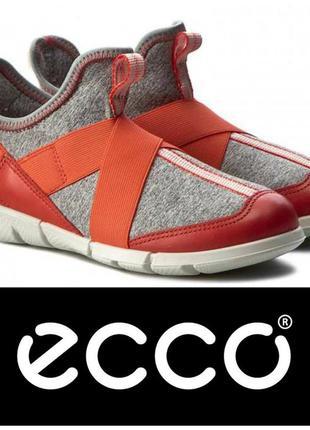 Оригинал ecco intrinsic sneaker новые полуботинки 30 р.