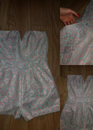 Комбез,  из очень красивой ткани