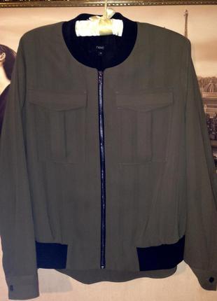 Бомбер-блуза