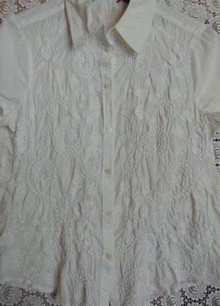 Рубашка с вышивкой esprit.