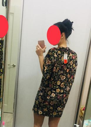 Платье oversize pull&bear