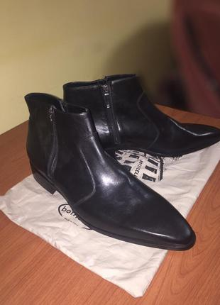 Чорні черевики roberto bottichelli