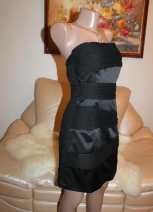 394fbdc7d2d ... Очень красивое маленькое черное платье размер s коктейльное вечернее  vila clothes3 ...