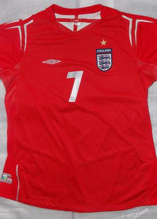 Спортивная форма английской сборной по футболу