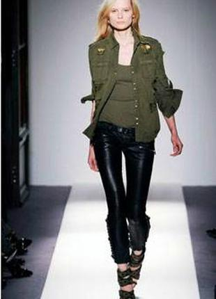 Пиджак в стиле милитари из плотного сукна