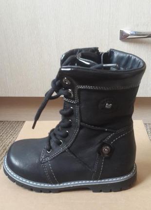 Новые ботинки lasocki 27р кожа