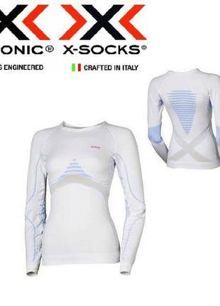 Термобелье премиум класса x-bionic теплое компрессионное термо кофта лыжное