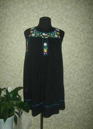 Платье top shop с вышивкой