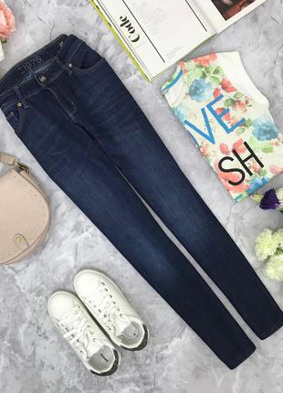 Темно синие джинсы zara  pn181179  zara