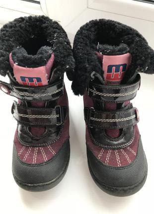 Зимняя обувь на девочку , р.24