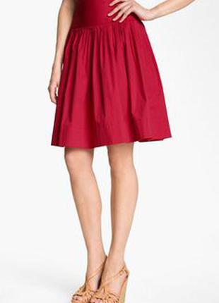 Юбка красная в стиле new look м
