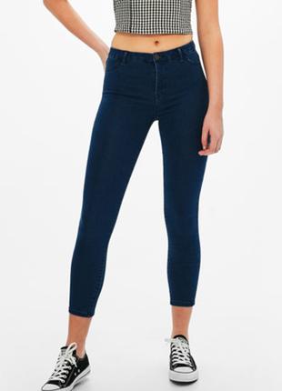 Классные джинсы-скинни bershka