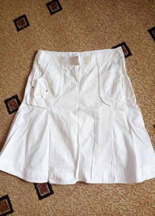 Летняя коттоновая юбка