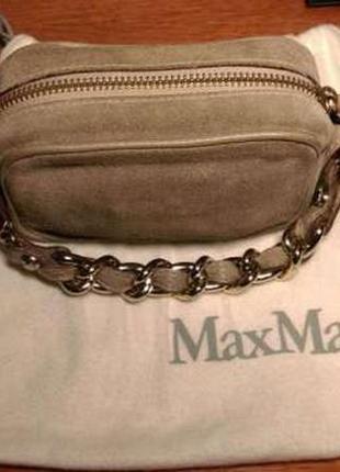 Очень стильный клатч max mara
