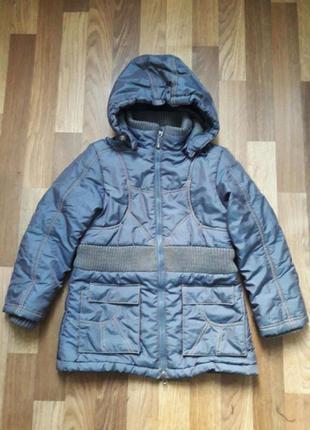 Куртка зимняя kiko 6-9 лет