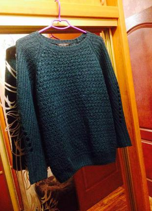 Кофта вязаная свитер