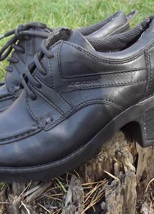 Ботильоны  полуботинки туфли кожа kickers