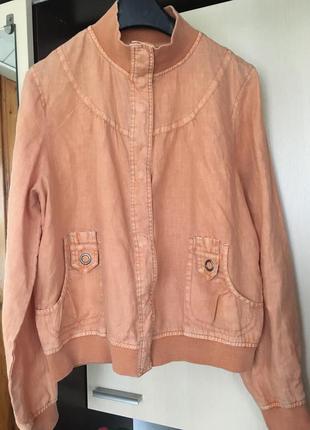 Куртка 100% лён