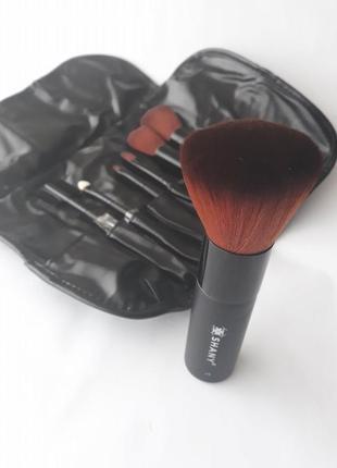 Набор кистей для макияжа shany studio quality kabuki brush set
