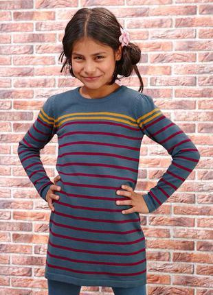 Яркое платье от тсм для девочек