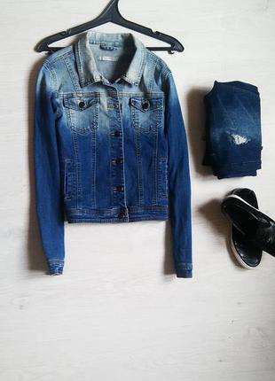 Модная джинсовая куртка от sorbet