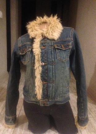 Стильная теплая джинсовая куртка o'neill оригинал