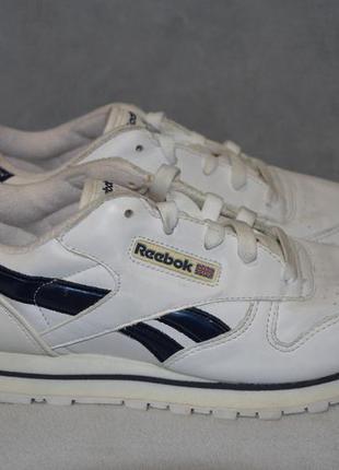 Кожаные кроссовки  reebok classic