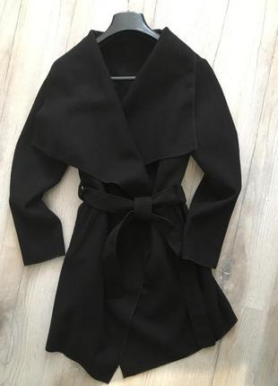 Пальто кашемировое на запах