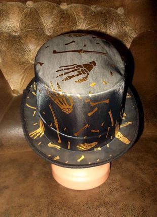 Маскарадная шляпа-цилиндр для костюма дракулы