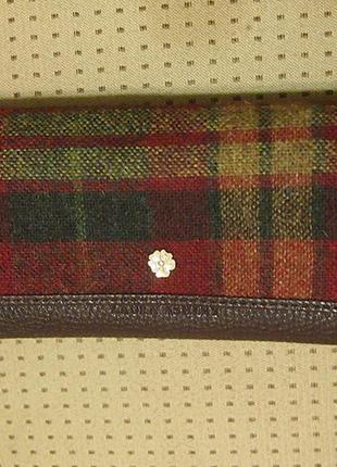 Кошелек портмоне laura ashley кожзам текстиль