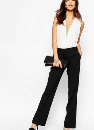 Классические брюки клеш new look