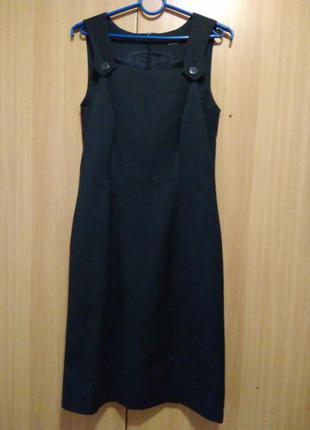 Деловое платье, сарафан на работу( в школу, школьный) - деловой стиль