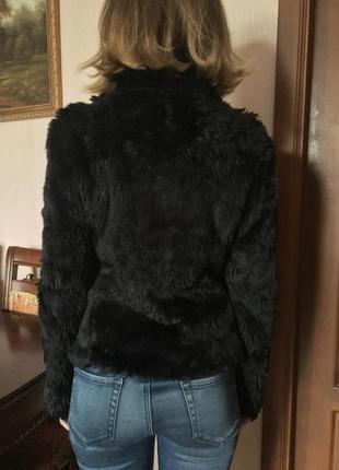 Курточка из искусственного меха benetton