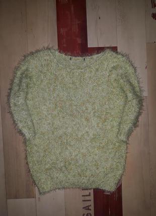 Шикарный свитер травка atmosphere размер s-m