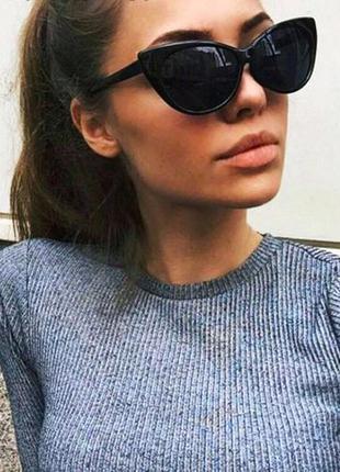 Изящные стильные винтажные очки 100% uv защита