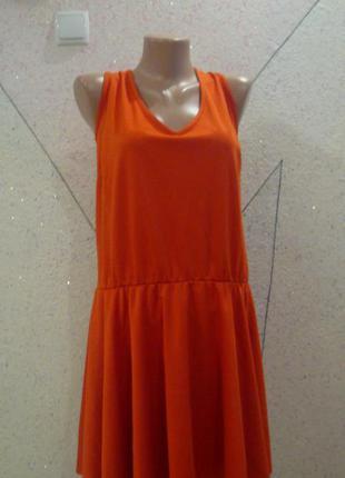 Новое платье с юбкой полусонце с биркой. размер 18-20