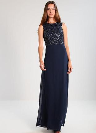 Выпускное платье, платье с открытой спинной, платье с бисером