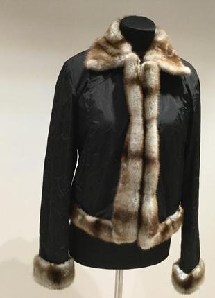 Куртка с мехом simonetta ravizza