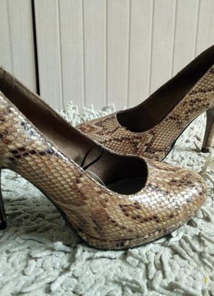 Оригинал venturini,дорогі туфлі із натуральної шкіри р.36\37 і устілка 23 см