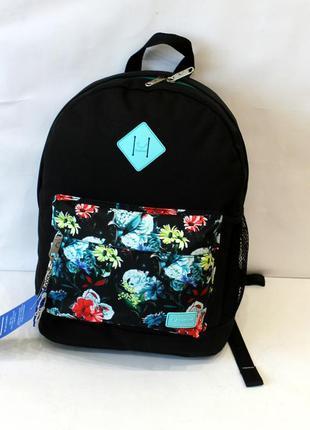 Рюкзак, ранец, городской рюкзак, спортивный рюкзак, женский рюкзак, цветы