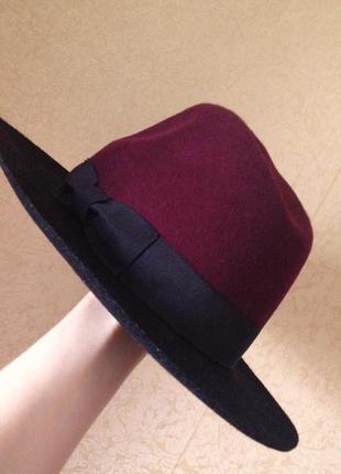 Шляпа reserved, 100% шерсть