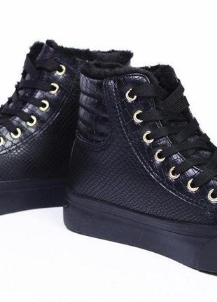 Стильні зимові черевики 36, 37